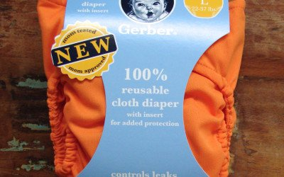 Gerber All-In-One Cloth Diaper Review
