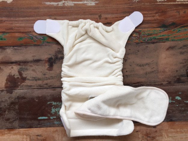 TotsBots size 2 bamboo cloth diaper