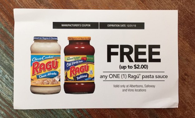 Influenster-Ragu-Coupon
