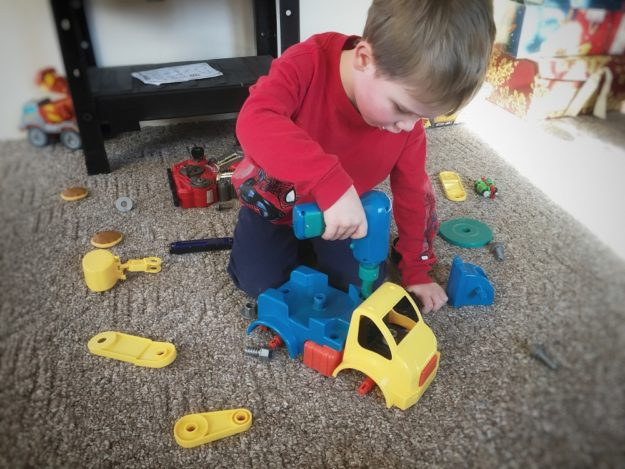 best gifts for 3 yr old boys, truck puzzle toy