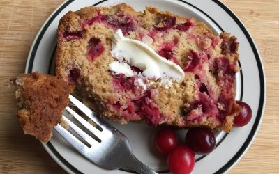 Cranberry Quick Bread with Whole Wheat