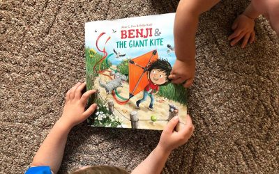 Children's Book Giveaway: Benji and the Giant Kite